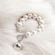 Modern Fashion Bracelets For Women Luxury Big Simulated Pearl Bracelet Jewelry Bijoux