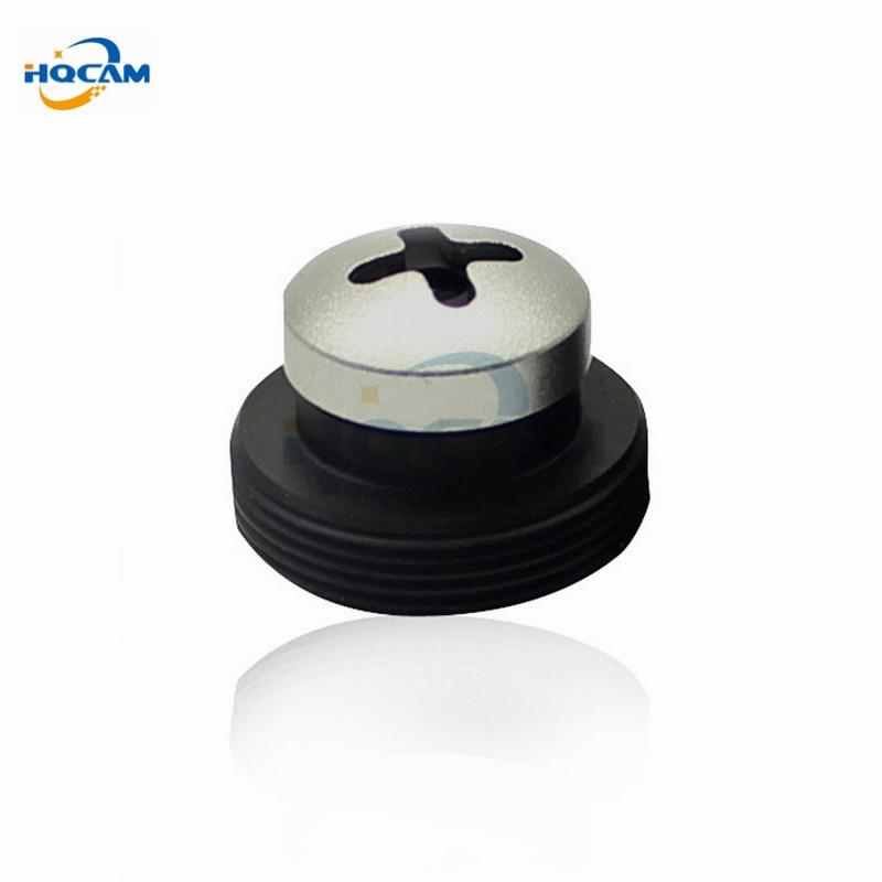 купить HQCAM 50PCS a lot Metal white screw 6mm lens Screw Board Lens 60 degrees For CCTV Security Camera  M12x0.5 for 940nm filter недорого