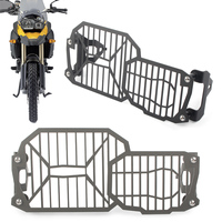 Motorcycle Headlight Grille Lamp Grill Protector Guard For BMW F650GS F700GS F 800 GS F800GS 2017 2018 17 18 Stainless Steel
