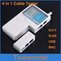 100 unids/lote multifunción remoto USB RJ11 RJ45 BNC LAN red de cables de teléfono DHL libera el envío