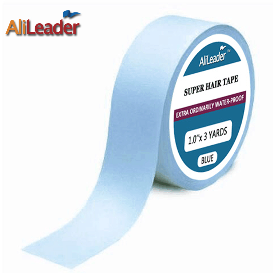 AliLeader 3/6/12/36 Yards Strong Ultra Hold Adhesive Tape Glue For Skin Hair Extensions/Wigs/Toupee Wigs Beaded Adhesives Tape