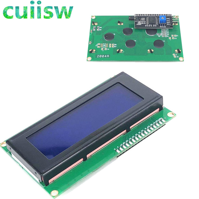 Free shipping LCD Board 2004 20*4 LCD 20X4 5V Blue screen LCD2004 display LCD module LCD 2004 for arduino electronics