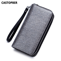 Women Fashion Shining Day Clutch Wallet Long Zipper Purse Split Patent Leather 2 Zipper Bag for Passport Cell Phone Bags Famous