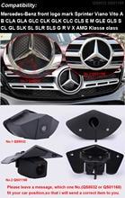 HD 1280*720 Pixel 1000TV linea di auto posteriore della parte posteriore di inverso di parcheggio della macchina fotografica per Mercedes Benz vito viano UN B CLA GLA GLC CLC CLK GLK CLS