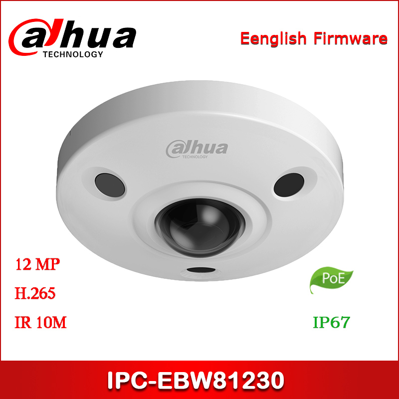 <font><b>Dahua</b></font> <font><b>IP</b></font> <font><b>Camera</b></font> IPC-EBW81230 <font><b>12MP</b></font> 1.98mm fisheye lens Panoramic IR Fisheye Network <font><b>Camera</b></font> with POE Security <font><b>Camera</b></font> image