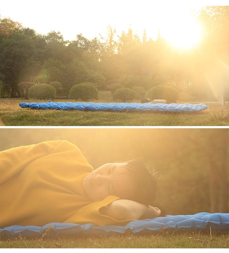Colchão de ar cama inflável para tenda