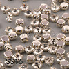 #1100S SS16 4mm Crystal Clear 1440pcs/bag Silver Base Crystals Sew On Rhinestones Claw