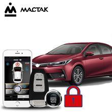 Universal PKE Car alarm car accessories Keyless Entry Comfort System Phone APP Remote Start Engine Alarm Push MP913