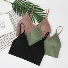 CMENIN Bralette Push Up Bra Bras for Women Fitness Tops Brassiere Bralette Underwear Bralet lingerie soutien brallete B0048(China)
