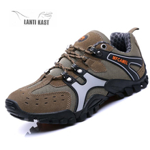 Men Hiking Shoes Comfortable Sport Sneakers Trekking Shoes Outdoor Walking Shoes Male Breathable Climbing Shoes Zapatos Hombre men professional outdoor walking shoes male waterproof breathable walking boots dockers trekking traveling shoes mens sneakers