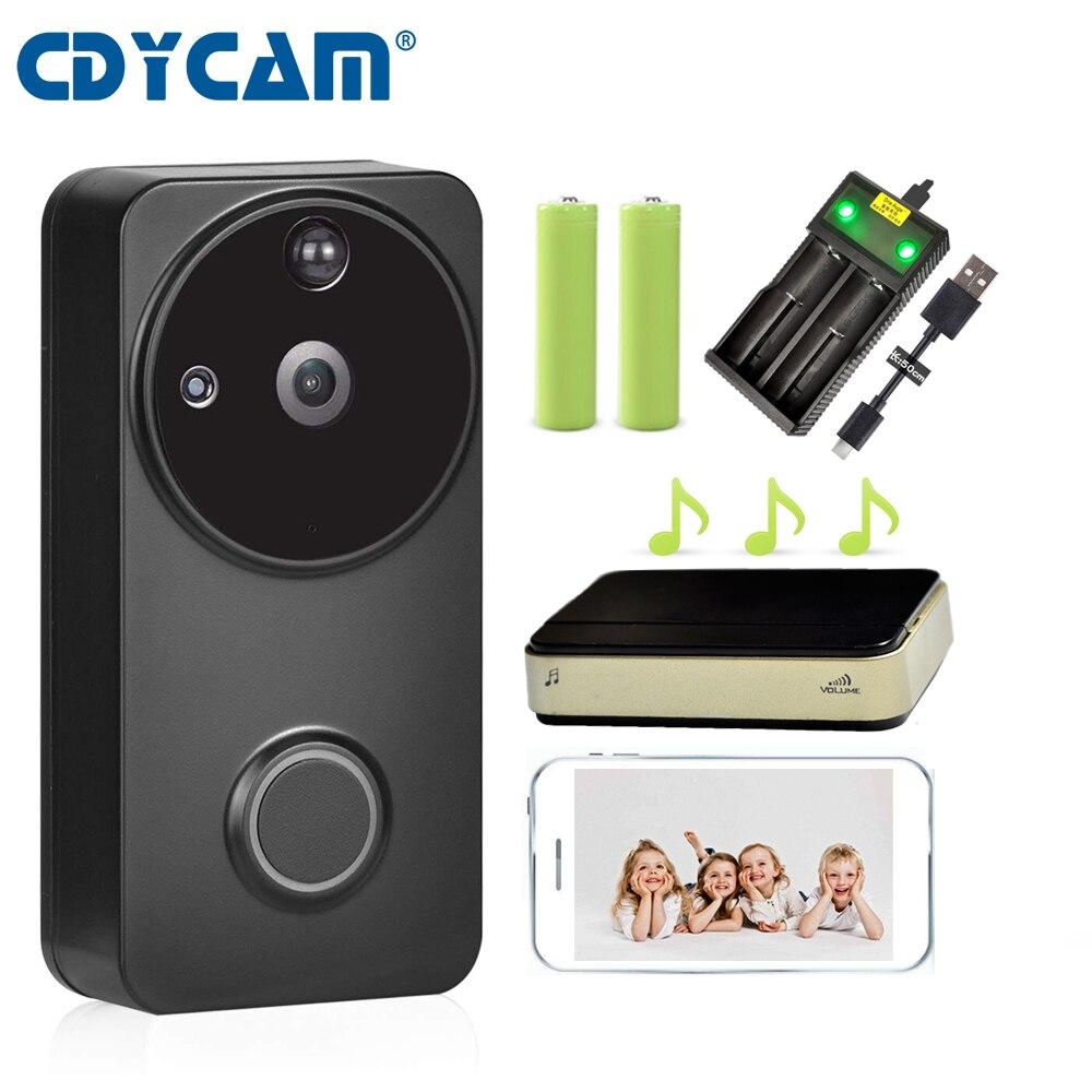 CDYCAM 720P HD IP Video Intercom WI FI Video Door Phone PIR Alarm Infrared Wireless Security