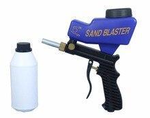 LEMATEC Hot Sales Sandblaster Sand blasting Gun with 700g sand Abrasives for sandblaster Taiwan Made air tool sandblasting gun