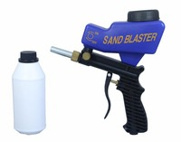 LEMATEC Hot Sales Sandblaster Sand Blasting Gun With 700g Sand Abrasives For Sandblaster Taiwan Made Air