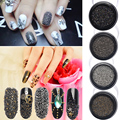 0.8mm Micro Crystal Sand Beads Rhinestone 3D Manicure Nail Art Decoration 6 Colors