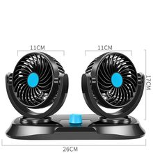 Creative Micro USB Fan For car 12V Electric Fan for Car Accessories Parts(China)