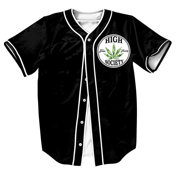 Men s shirts Jersey overshirt Streetwear Hip Hop Breasted summer baseball shirt JY001