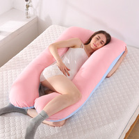 Sleeping Support Pillow For Pregnant Women Body PW11 Cotton Plus Size U Shape Maternity Pillows Pregnancy Side Sleepers 150*75
