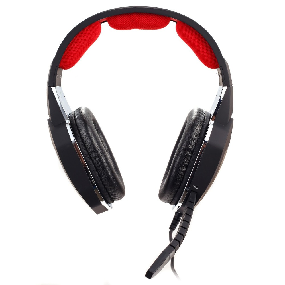 Wired gaming headset for PS4 xbox one with background music and chat silver  Metal plating effect make it different-in Earphones & Headphones from