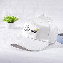 High Quality Fashionable Baseball Cap for Women Printing Embroidery Hats Snapback Monochrome Cap Adjustable Hip Hop Baseball Cap