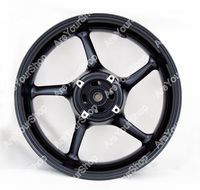 Rear Wheel Rim For Triumph Street Triple 675 2008 2009 Daytona 675 06 10 Black