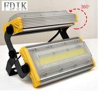 IP66 방수 투광 조명 50W 100W 150W 높은 전원 야외 스포트 라이트 LED 홍수 빛 마당 정원 프리 램프 무료 선물