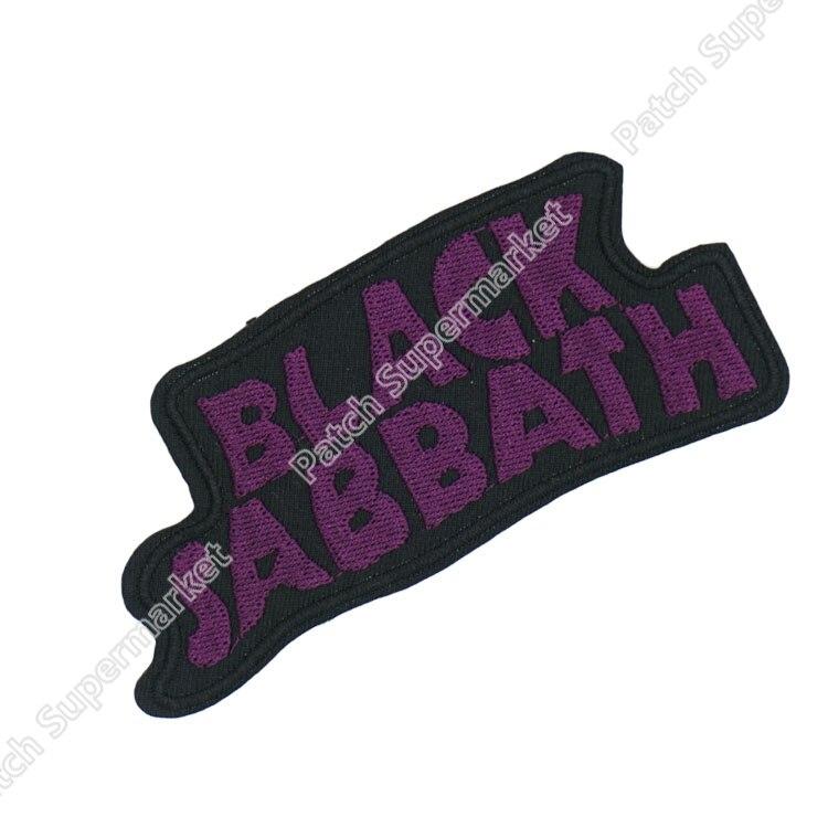 BLACK SABBATH Music Band Punk Rock Bestickt NEUEN EISEN AUF und NÄHEN AUF Flecken Heavy Metal Individuelles design patch verfügbar-in Aufnäher aus Heim und Garten bei  Gruppe 1