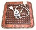 Free Shipping for Jade Germanium Stone Mat Jade Heating Mini Mat Heated Pad Cushion Tourmaline Health Cushion 45*45CM