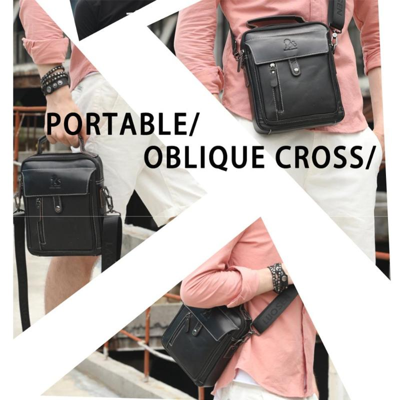 HTB1gBwyPSzqK1RjSZFLq6An2XXaf Men Business Briefcase Vintage Genuine Leather Laptop Messenger Bag Cowhide Big Capacity Tote Office Handbag Men Briefcase