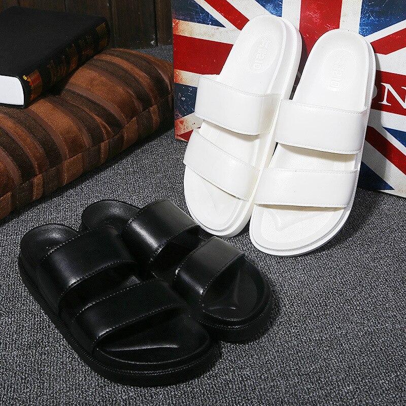 2018 Neue Marke Sommer Paar Hausschuhe Männer Und Frauen Outdoor Home Hausschuhe Anti-rutsch-boden Slipper Slides Flip-flops Strand Schuhe
