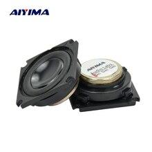 AIYIMA 2PCS מלא טווח רמקול 1.25 אינץ 4 אוהם 3W Neodymium מגנטי אודיו צליל רמקול עבור Bluetooth אודיו DIY
