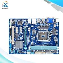 Gigabyte GA-B75M-HD3 Оригинальный Использовать Рабочего Материнская Плата B75M-HD3 B75 LGA 1155 DDR3 i3 i5 i7 16 Г Micro-ATX