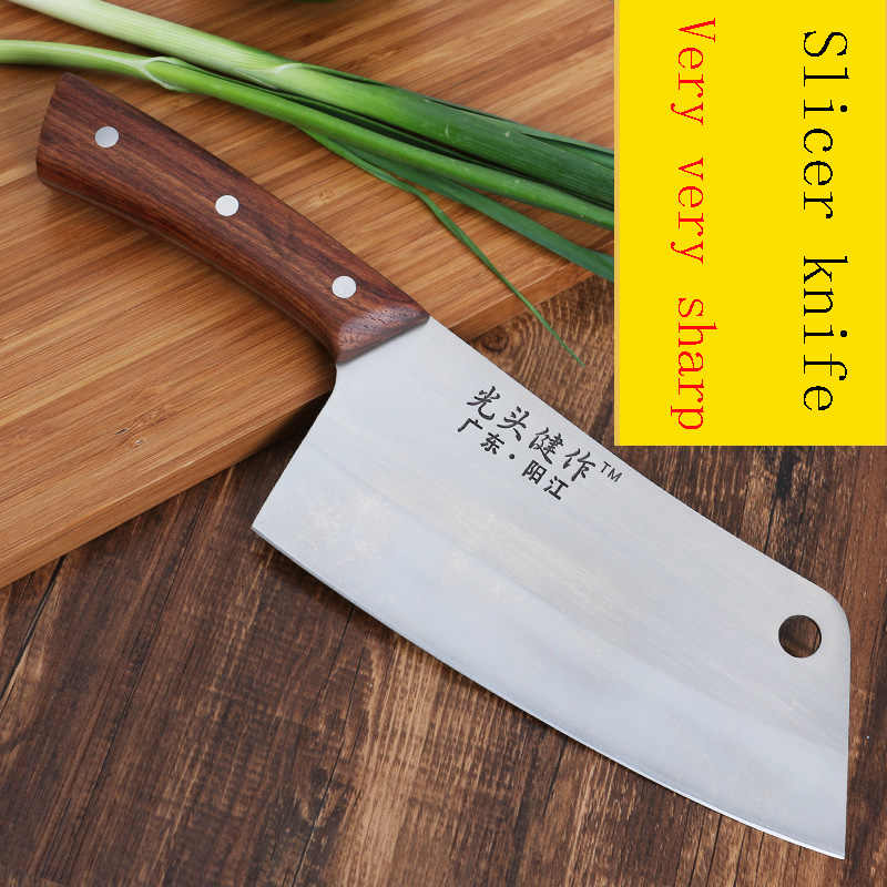 LDZ 4Cr13MoV Stainless Steel Kitcchen Chef Knife Sharp Japanese Kitchen Knives Meat Fruit Vegetable Cuter Cleaver Cooking Tools
