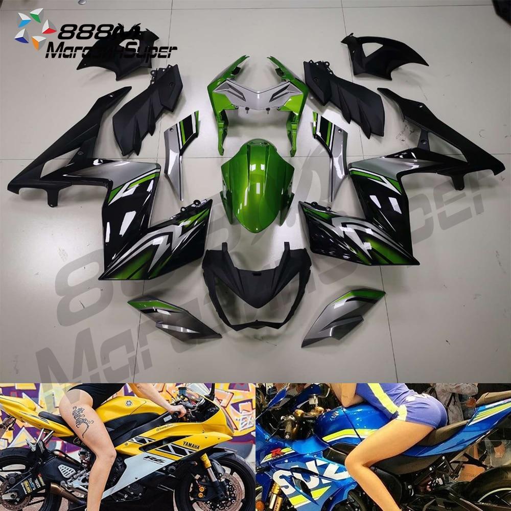 For Kawasaki Z250 Z300 2014 2015 2016 Z-800 13 14 15 16 Bodyworks Aftermarket Motorcycle Fairing (Injection Molding)