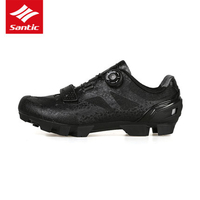 Santic Men Cycling Shoes 2 Colors PU Mtb Bike Cycling Shoes Racing Team Cycling Clothing Life MS17003