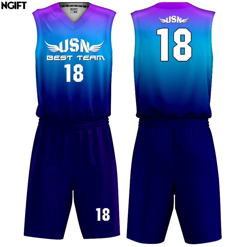 4d811c3177b Ngift new style adult custom design basketball jersey Youth Uniforms Set  Sublimation custom