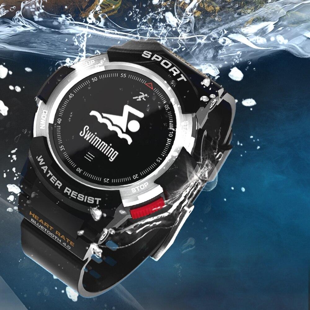 2018 NEW Smart watches F6 Smartwatch Bracelet Outdoor GPS IP68 waterproof Multi sport Watch Men wearable
