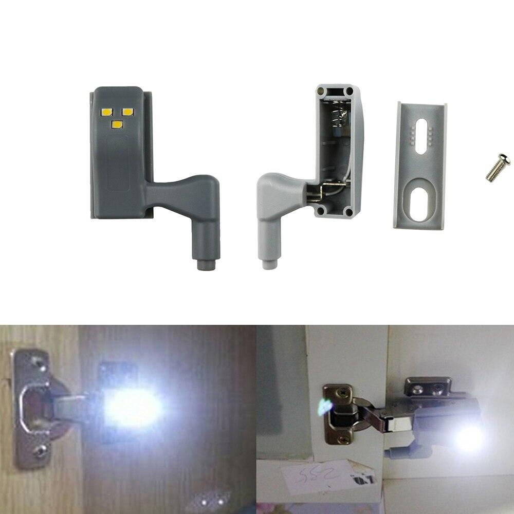 Scharnier Licht Universal Kche Schlafzimmer Wohnzimmer Schrank Kleiderschrank 3 LEDS Inneren LED Sensor