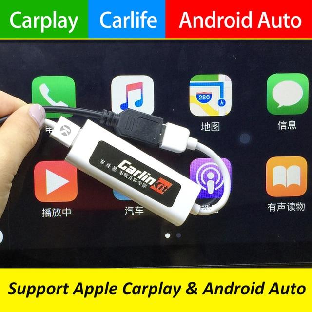 Carlinke USB Smart Link Apple Carplay Dongle for Android Navigation Player Mini USB Carplay Stick