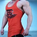 Body Enginess Fitness Men Sleeveless Bodybuilding Tights Sexy Casual Racerback Undershirts Stringer Singlet Vest Tank Top