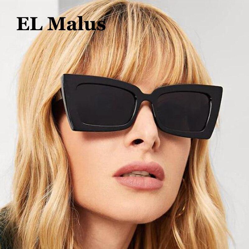 brand Designer Square Frame Sunglasses Women Female Reflective Silver Lens Pink Red Shades Sun Glasses Oculos Gafas For Fast Shipping Honest el Malus