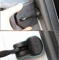 ACCESSORIES FIT FOR 2007 2008 2009 2010 2011 FORD FOCUS MK2 DOOR LOCK+STOPPER COVER BUCKLE ARRESTER ARM CAP CASE