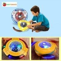 2017 Nowy Uniwersalny Spinning Top UFO z Muzyką i flash żyroskop żyroskop kolorowe światła LED światła Zabawki dla dzieci Najlepsze prezent