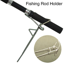 Fishing Pole Bracket Fishing Rod Mount Metal Excessive Power Out of doors Fish Pole Holder Stand Telescoping Fishing Software Gear Pesca