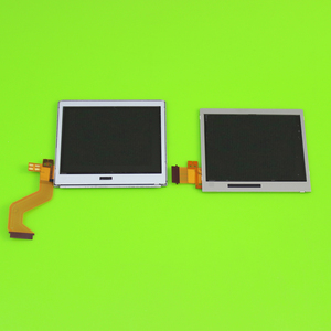 Image 3 - Üst alt LCD ekran ekran Nintendo DS Lite NDSL oyun konsolu için alt aşağı LCD ekran NDSL için onarım bölümü aksesuarları