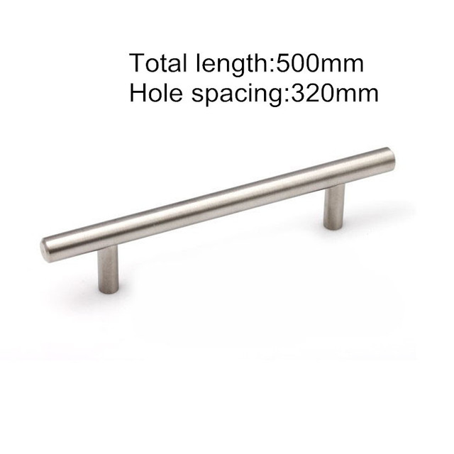 Solid Stainless Steel Cabinet Handle Durable Cupboard Pull Kitchen