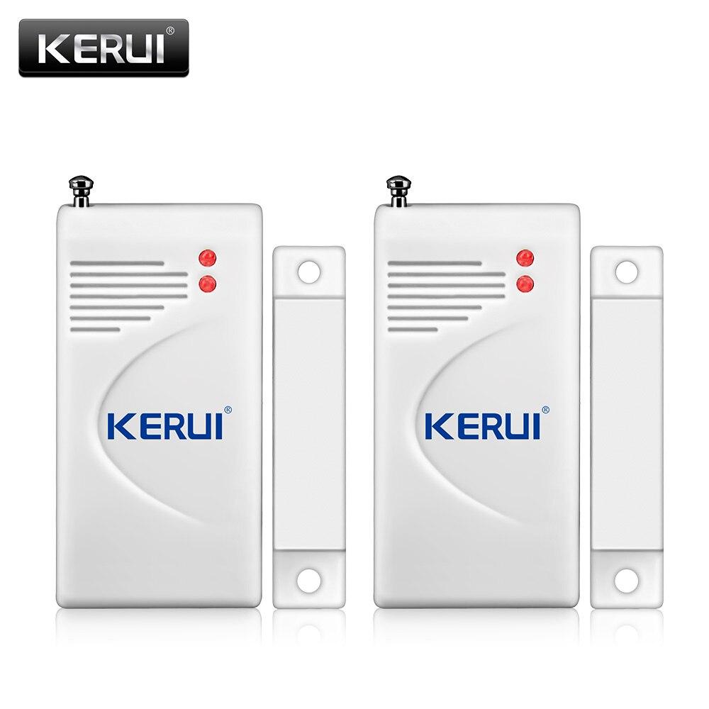2PS Wireless Windows/Door Infrared Gap Sensor Wireless Door Window Drawer Detectors For Home/Shop Security Alarm System