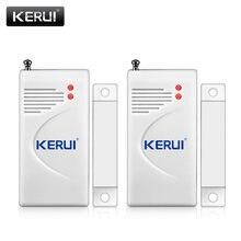 2 stücke KERUI Wireless Windows Tür Infrarot Lücke Sensor Schublade Detektoren Für Home Shop Sicherheit Alarm System