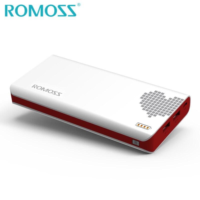 Original ROMOSS 20000mAh Power Bank Sense 6 External