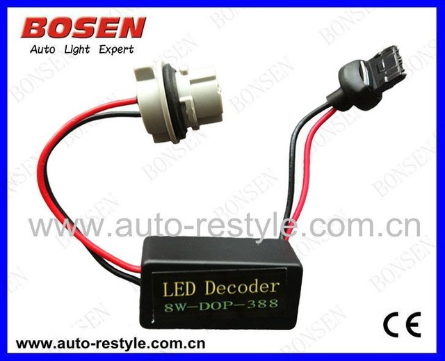 LED resistor  T20 7440 8w free shipping  2012 new