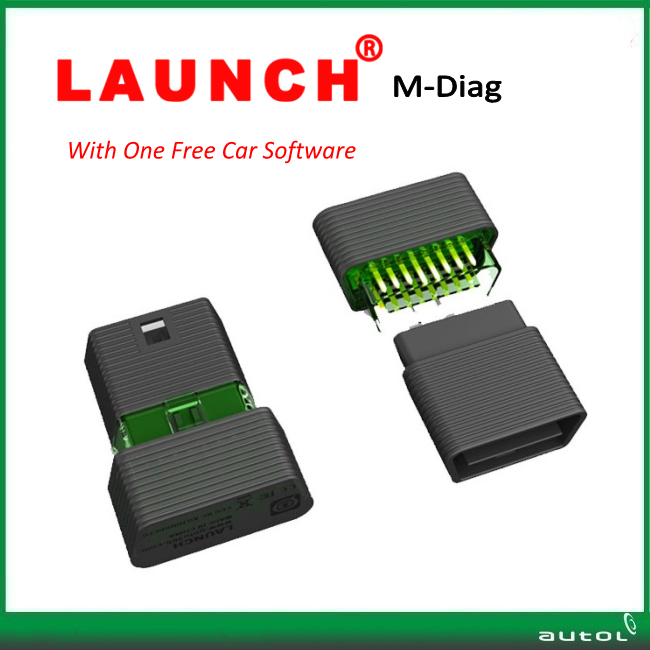 Original Launch M-Diag Lite Plus For Android/iOS 2 in 1 with one free car software MDiag Plus better than Launch Easydiag,Idiag